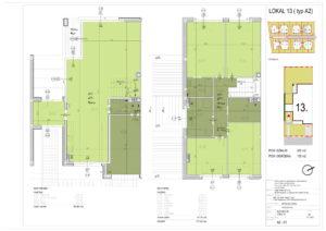 Plan mieszkania 13